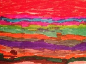 **Vote** For Isabel's Rainbow!   #ArtContest