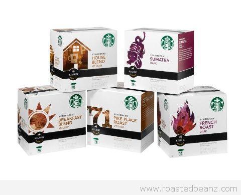 FREE Sample: Starbucks Kcups!
