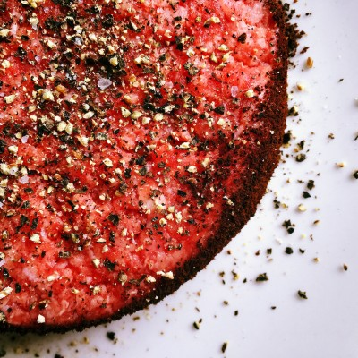 Perk Up Your Plate With Coffee Rubbed Hamburgers