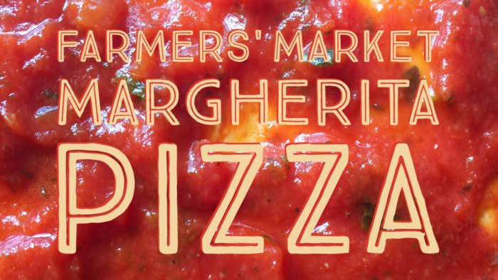 Farmer's Market Margherita Pizza Recipe © www.roastedbeanz.com #PickedAtPeak [AD] #CollectiveBias #shop