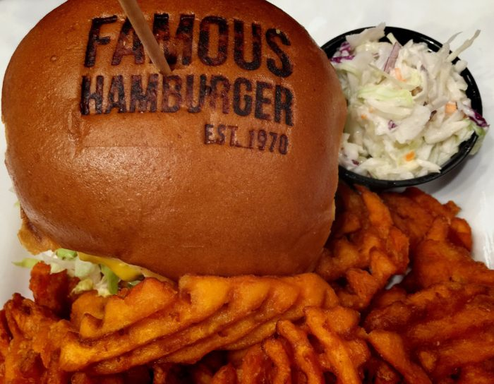 Bloggers Do Burgers With Famous Hamburger In Dearborn MI © www.roastedbeanz.com #BloggerDoBurgers #FamousHamburger [AD]