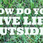 How do you live life outside this summer? © www.roastedbeanz.com #LiveLifeOutside [AD] #IC