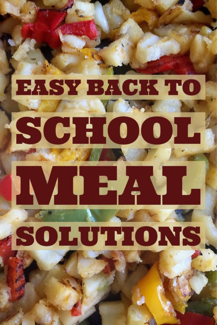 AD: Easy Back To School Meal Solutions With Breakfast Bowl Recipe © www.roastedbeanz.com #ReimagineYourRoutine [AD] #CollectiveBias #shop