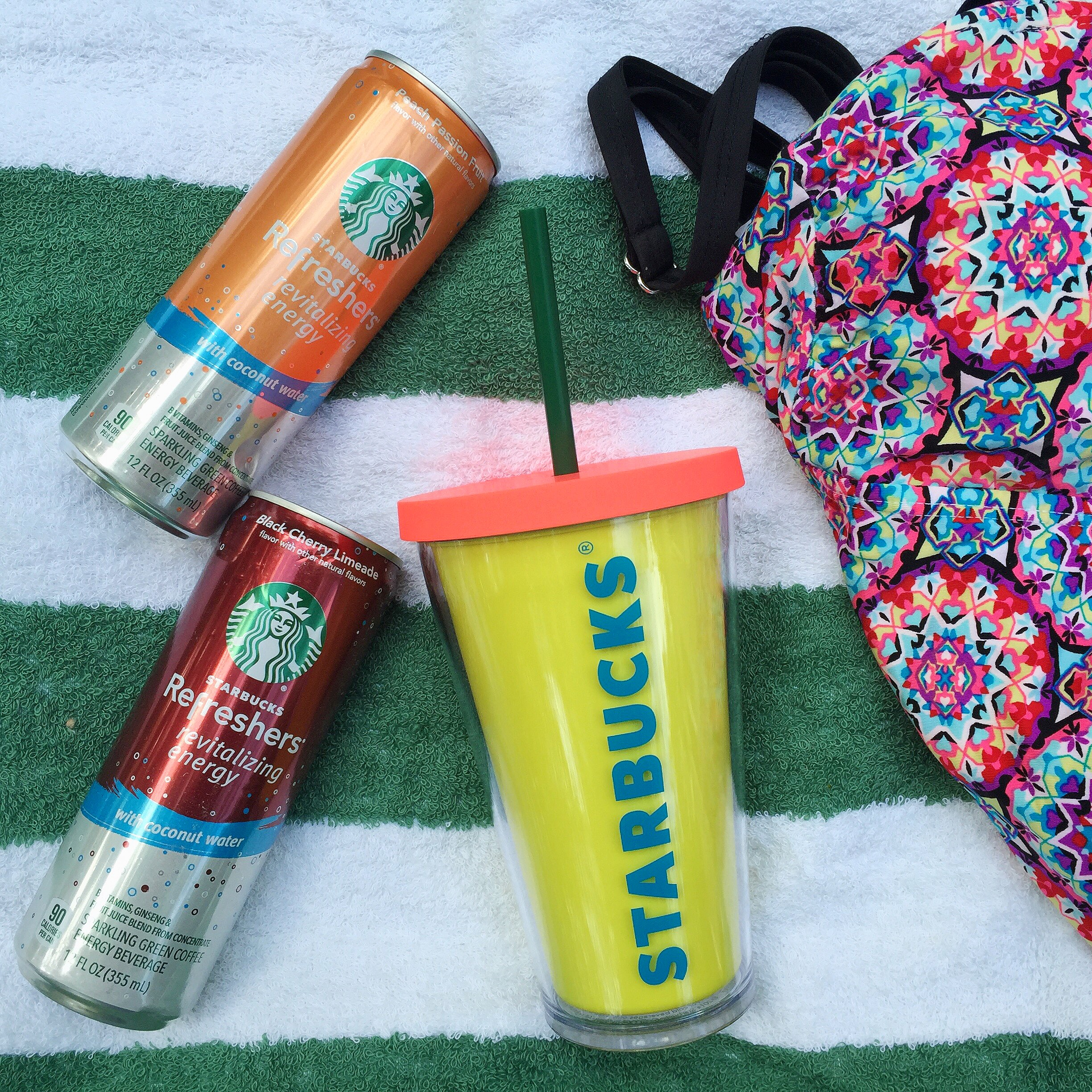 Celebrate Summer With Starbucks At Home © www.roastedbeanz.com #Starbucks #StarbucksCoffee