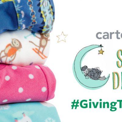 Giving Tuesday and Carter's Sweet Dreams Pajama Program