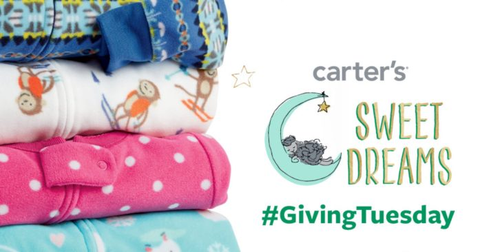 Help Kids Keep Cozy This Winter With Carters This Giving Tuesday © www.roastedbeanz.com #GivingTuesday #CartersSweetDreams [AD]