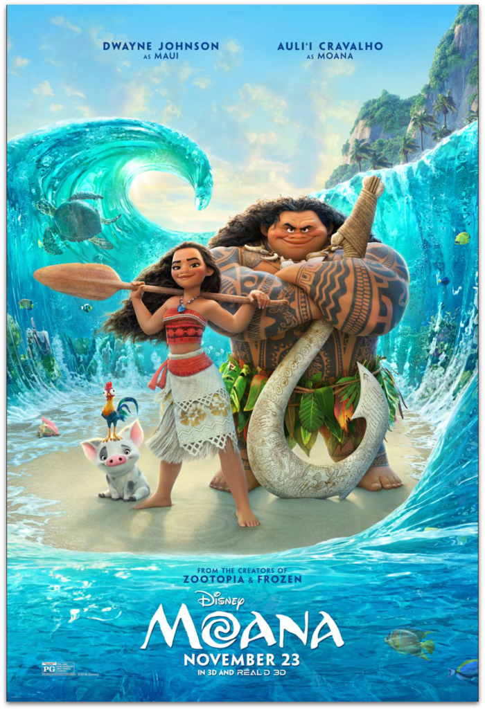 Disney Moana in 3D Movie Review © www.roastedbeanz.com #Moana #rwm [AD]