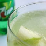 Sour Green Apple Iced Spritzer 7UP Mocktail © www.roastedbeanz.com [AD] #JustAdd7UP #CollectiveBias #shop