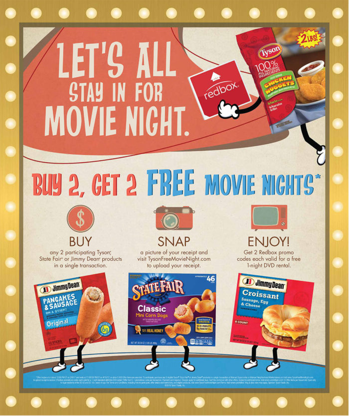 Tasty Tips To Enjoy Free Redbox Movie Night © www.roastedbeanz.com #TysonFreeMovieNight [AD]