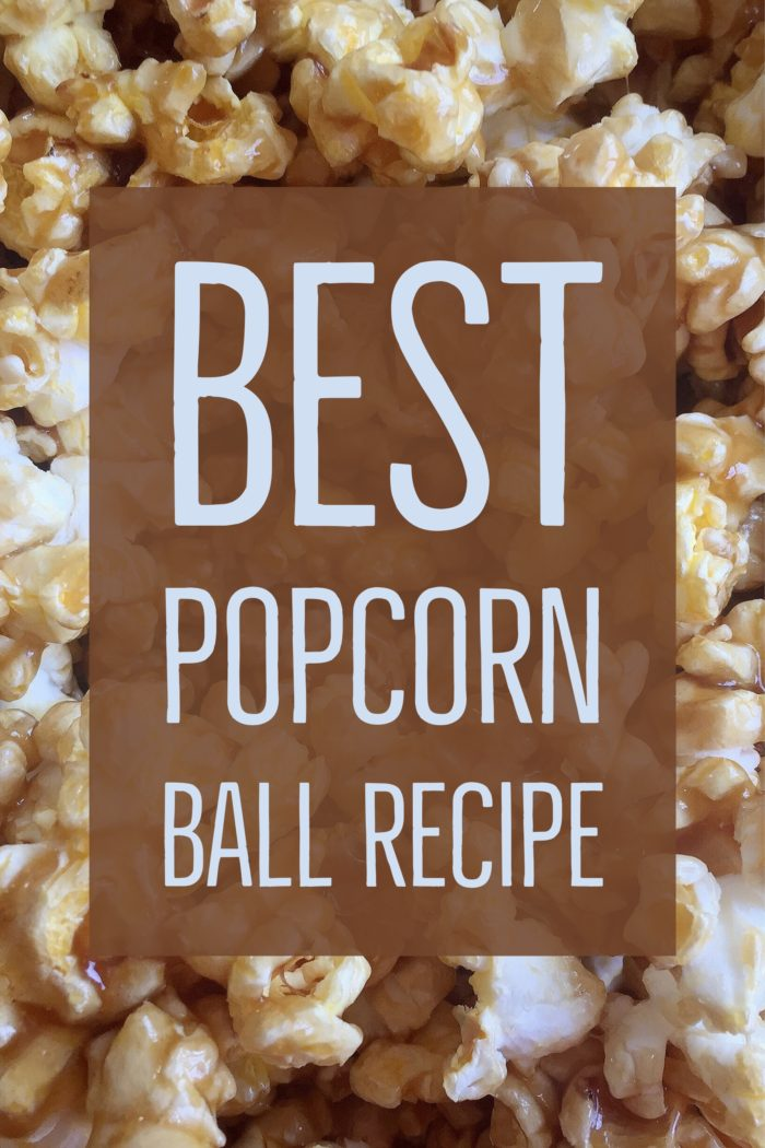 The Best Popcorn Ball Recipe For A Wonderful Movie Night © www.roastedbeanz.com [AD] #WonderfulMovieNight #WonderWoman #CollectiveBias #shop