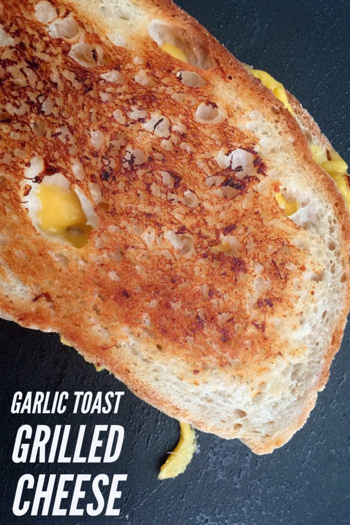 Garlic Toast Grilled Cheese Recipe © www.roastedbeanz.com [AD] #ForWhatMattersMost #CollectiveBias #shop