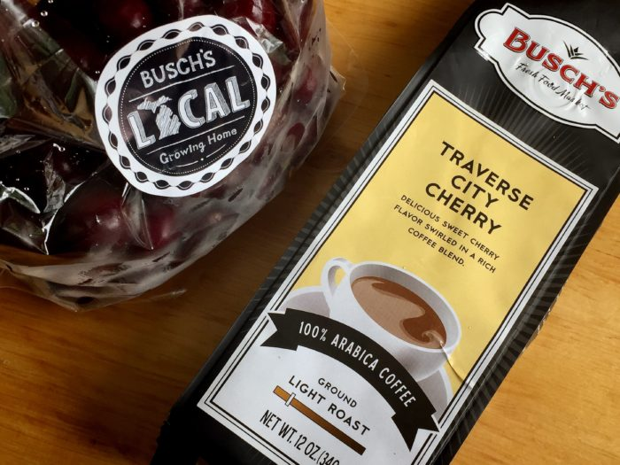 Michigan Cherry Coffee Jelly Recipe © www.roastedbeanz.com [AD] #buschsmarket