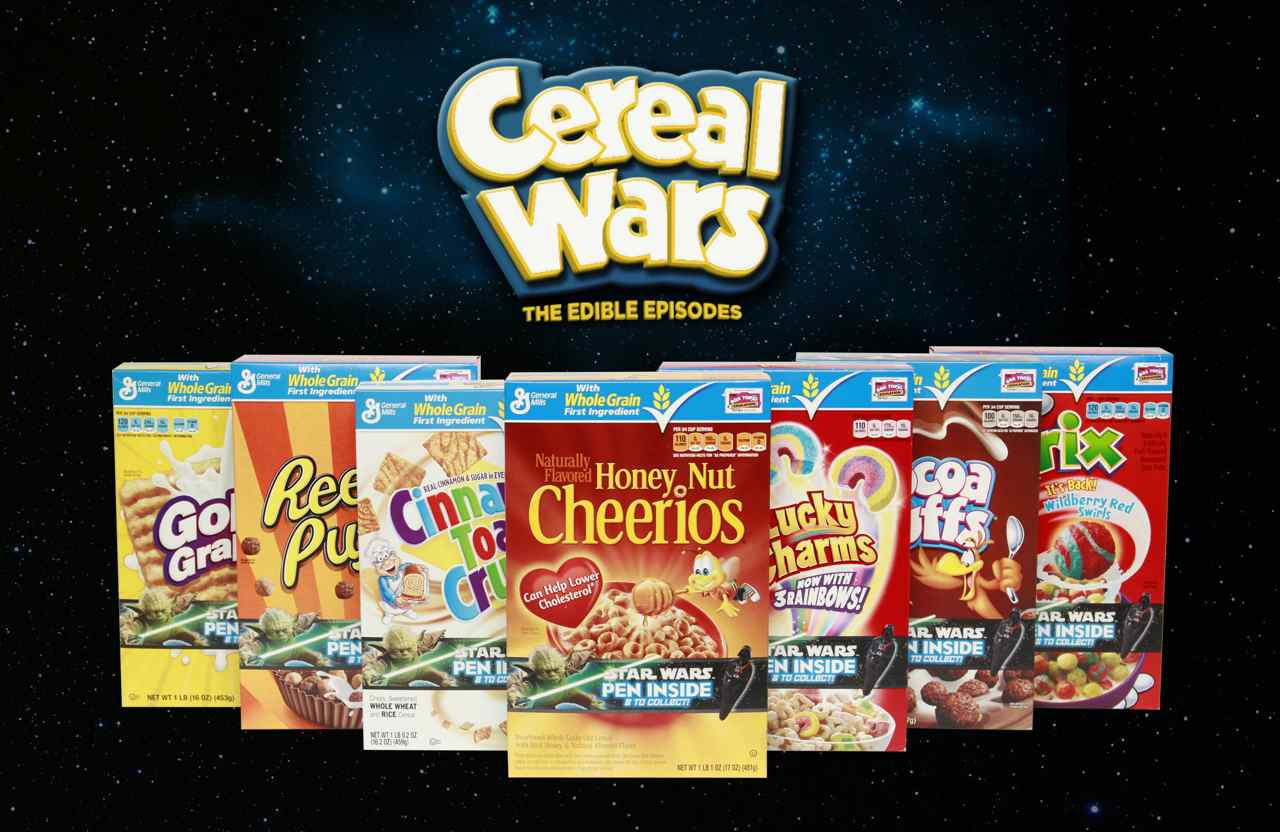 Roasted Beanz: Big G Cereals Cereal Wars Edible Episodes #sp