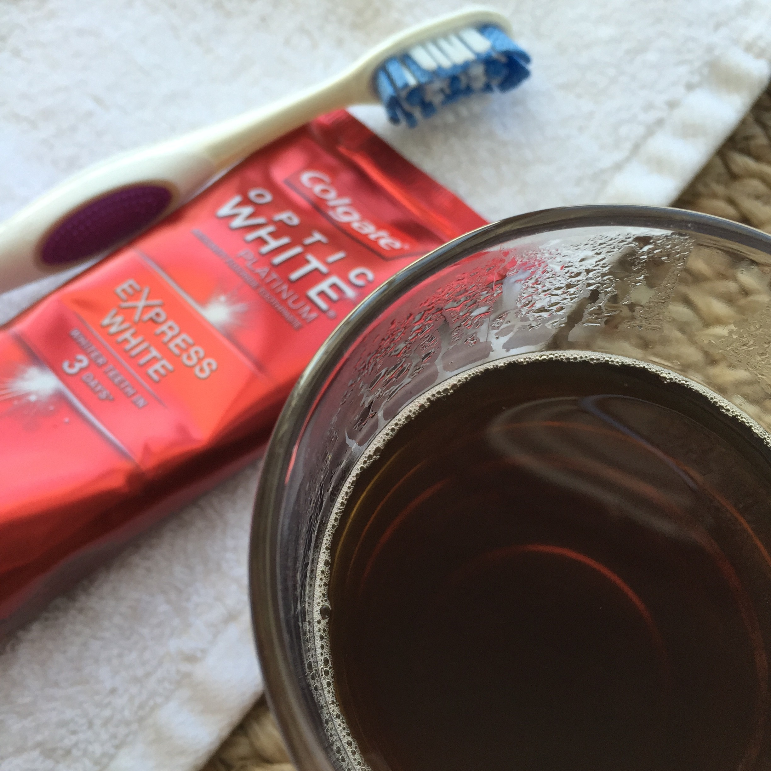 Coffee Pairing With Colgate Optic White Express White © www.roastedbeanz.com #OpticSmiles #ad #collectivebias #shop