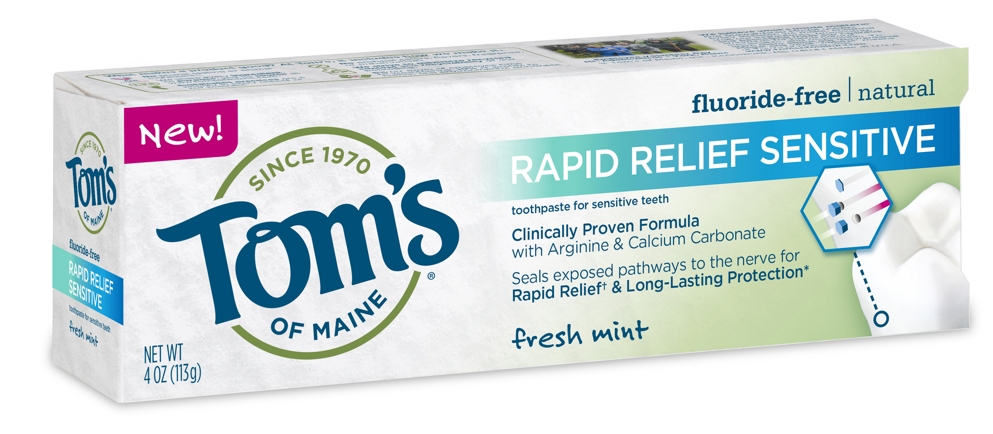 Senstive Tooth Relief in 60 Seconds With Tom's Of Maine © www.roastedbeanz.com #Reliefin60 [AD] #Activate