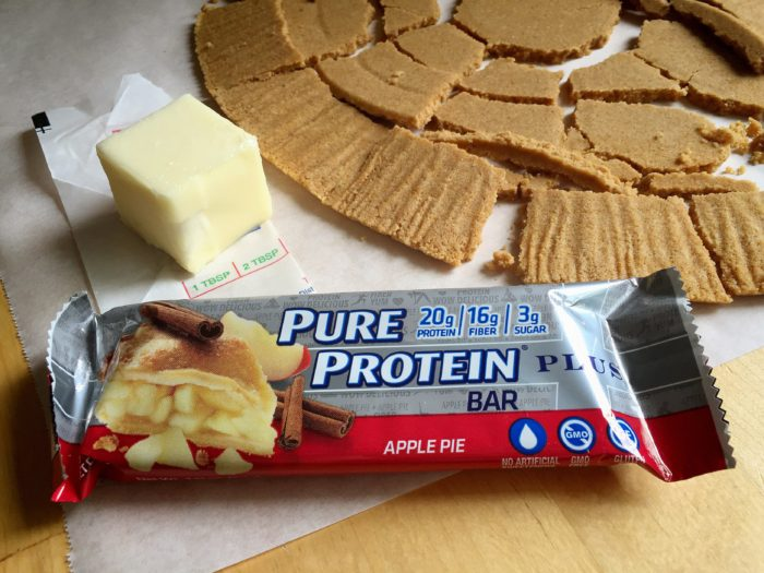 New Pure Protein Plus Sweepstakes And Great Crustless Apple Pie Recipe © www.roastedbeanz.com #KeepOnTrack [AD] #CollectiveBias #shop