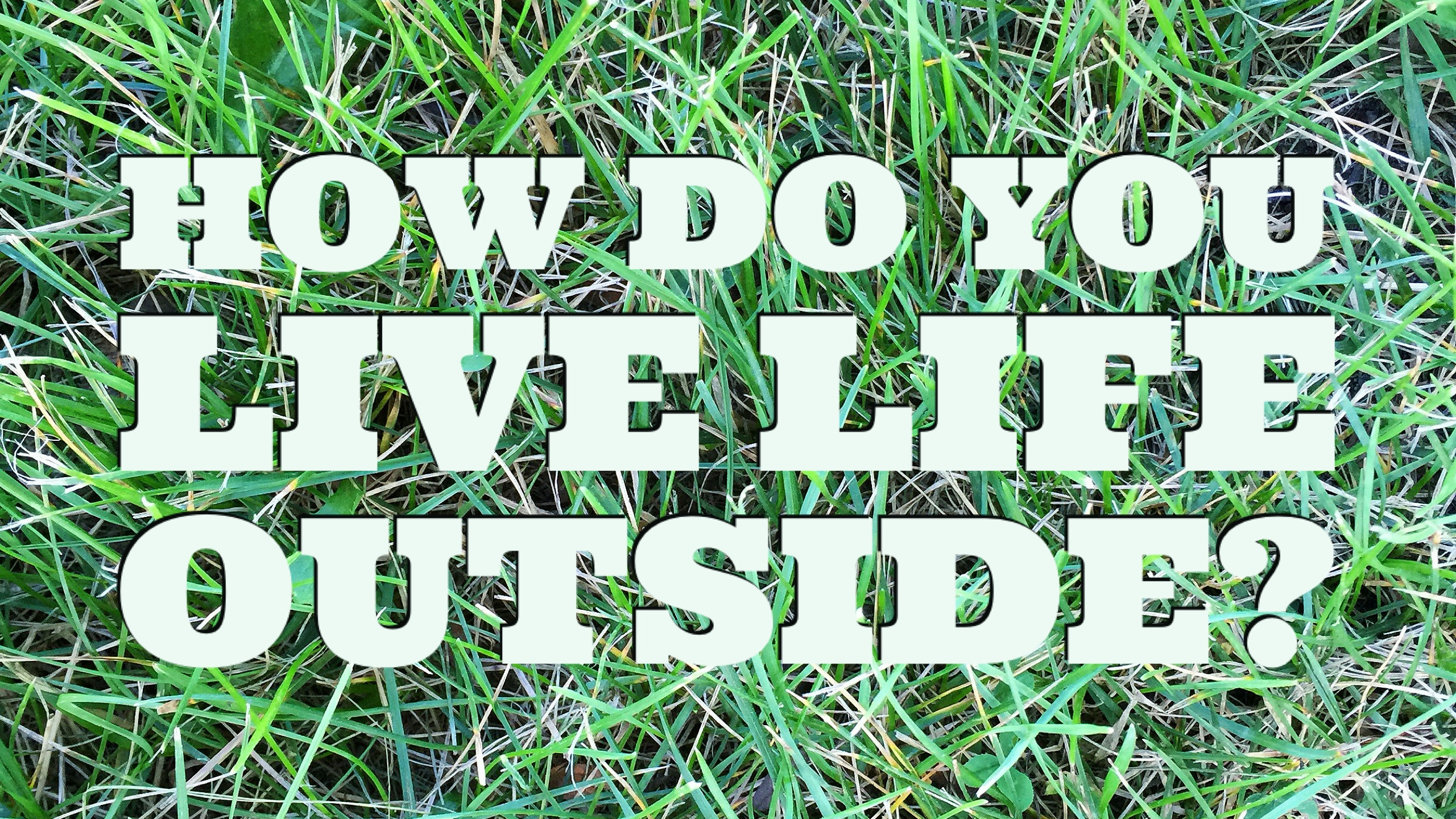 How do you live life outside this summer? © www.roastedbeanz.com #LiveLifeOutside [AD] #IC