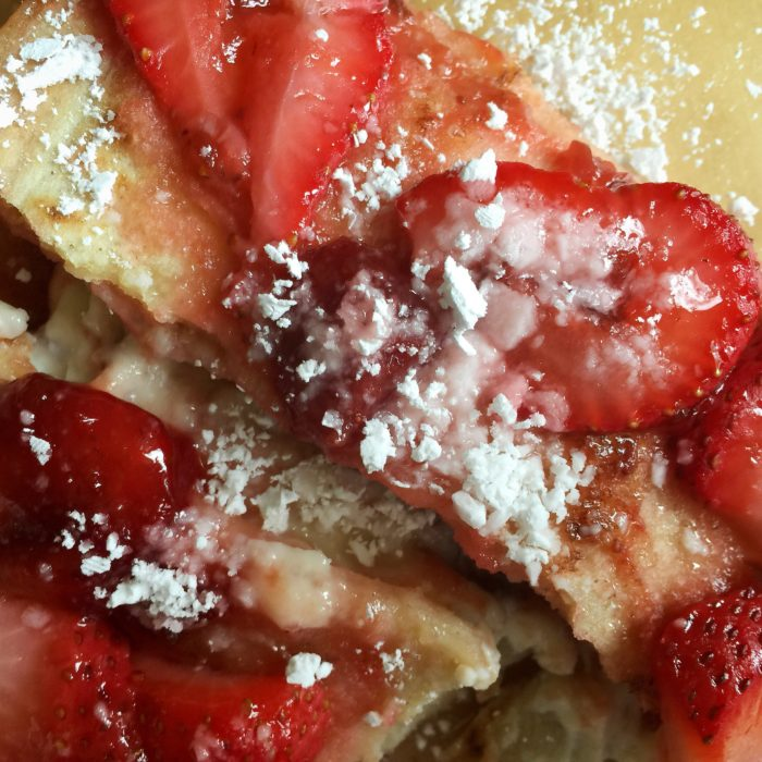 Strawberry Jalapeno Cream Cheese Enchilada Dessert © www.roastedbeanz.com #SpreadTheHeat [AD] #CollectiveBias #shop
