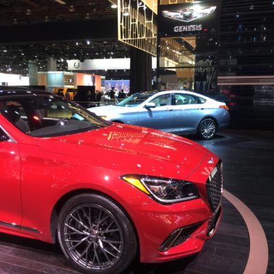 Genesis Luxury For The Family At The North American International Auto Show