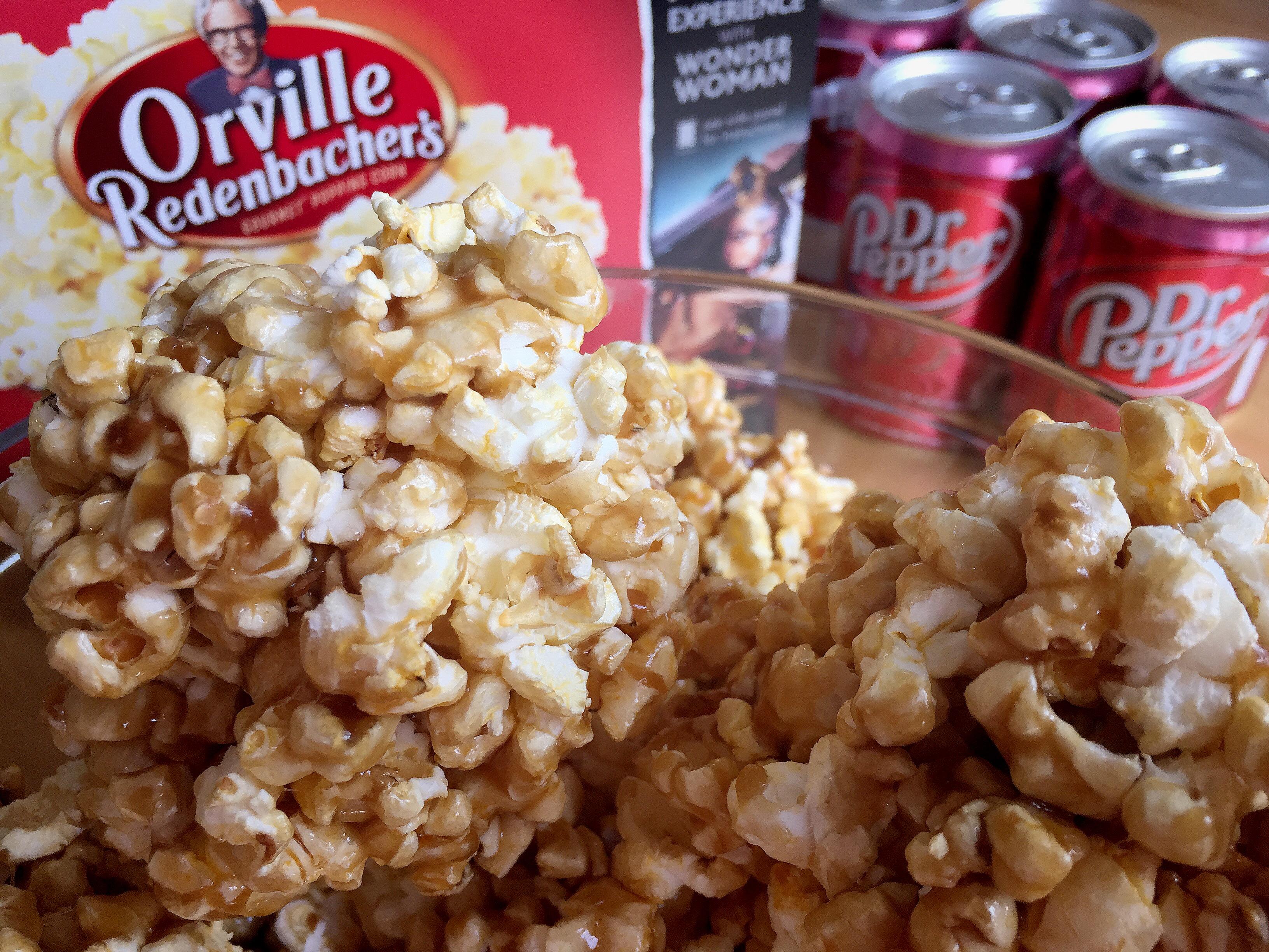 The Best Popcorn Ball Recipe For A Wonderful Movie Night © www.roastedbeanz.com [AD] #WonderfulMovieNight #WonderWoman #CollectiveBias #shop